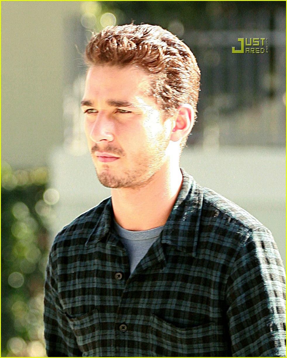 shia labeouf plaid 20757181