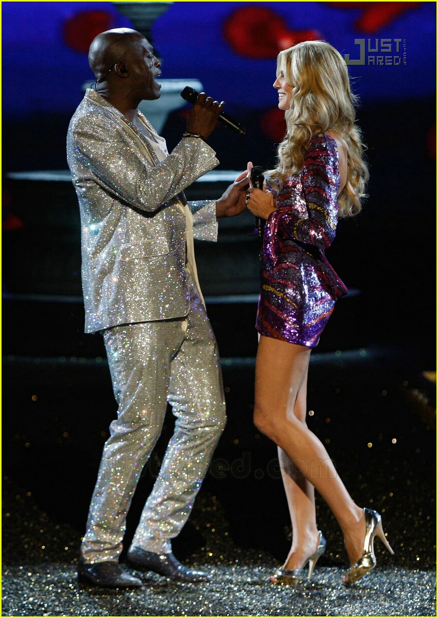 Full Size Van >> Heidi and Seal Sing @ the Victoria's Secret Show: Photo ...