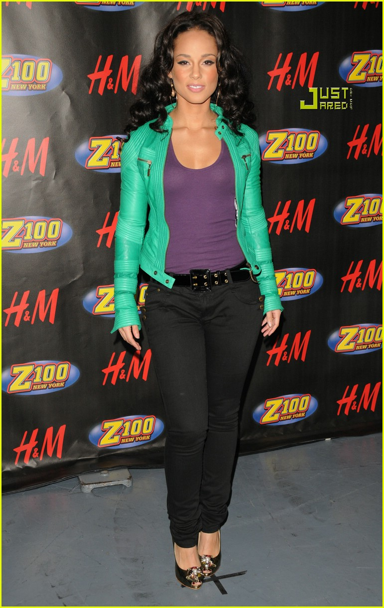 alicia keys jingle ball 12