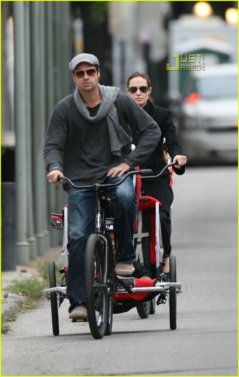 brad pitt bicycle built for four 12814261