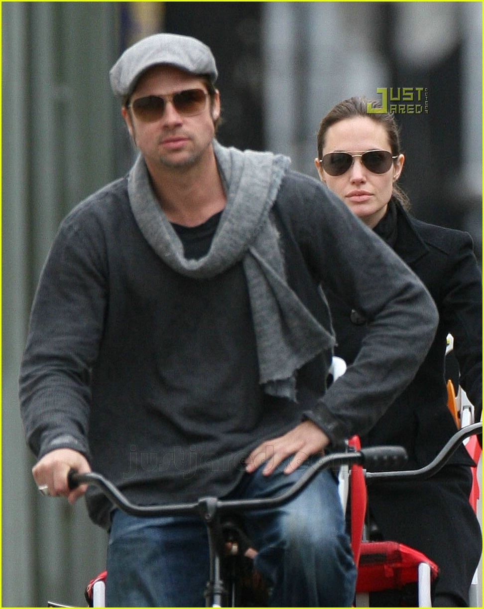 brad pitt bicycle built for four 14