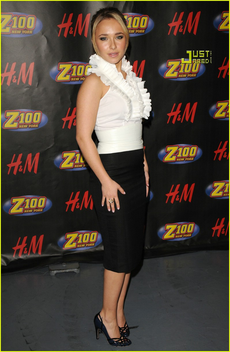 hayden panettiere jingle ball 09804521