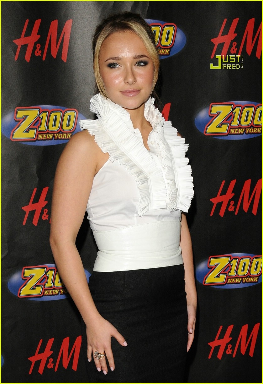 hayden panettiere jingle ball 10