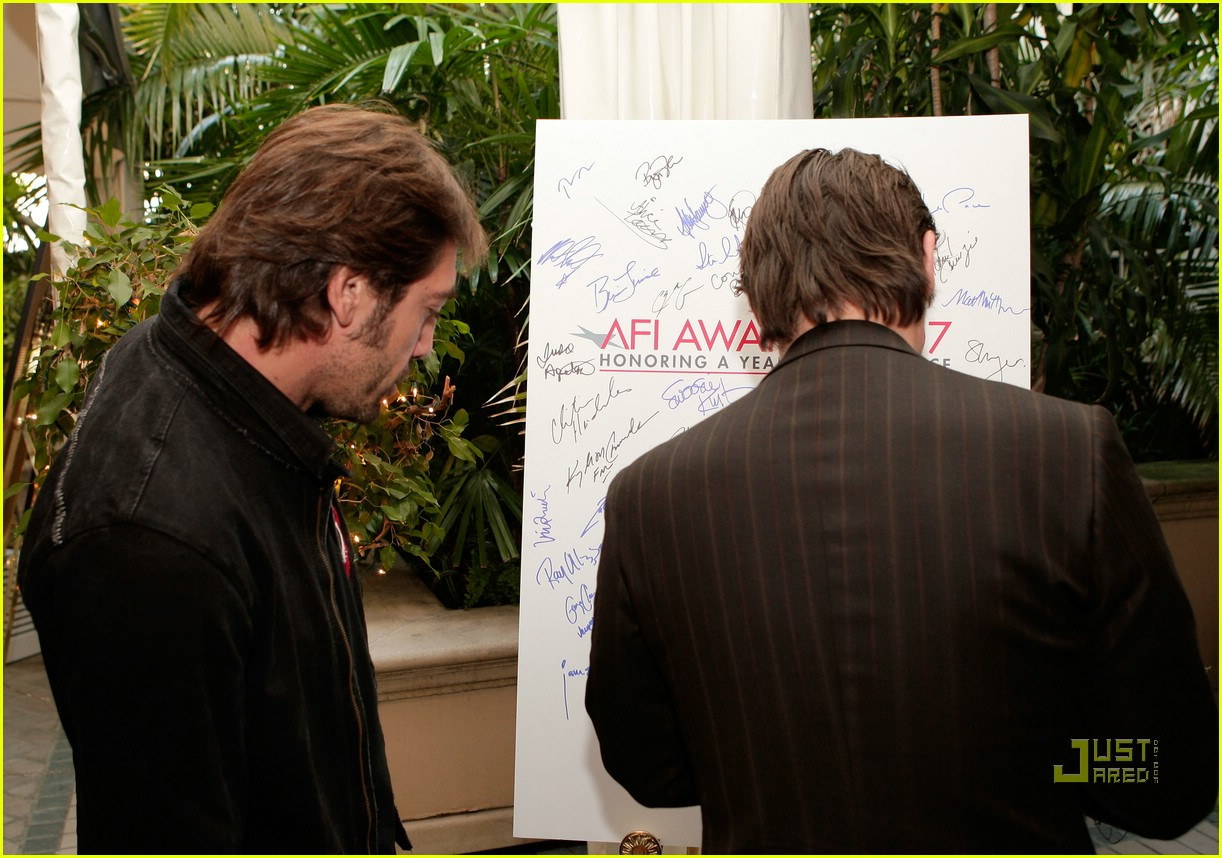 javier bardem afi awards 2008 10847851