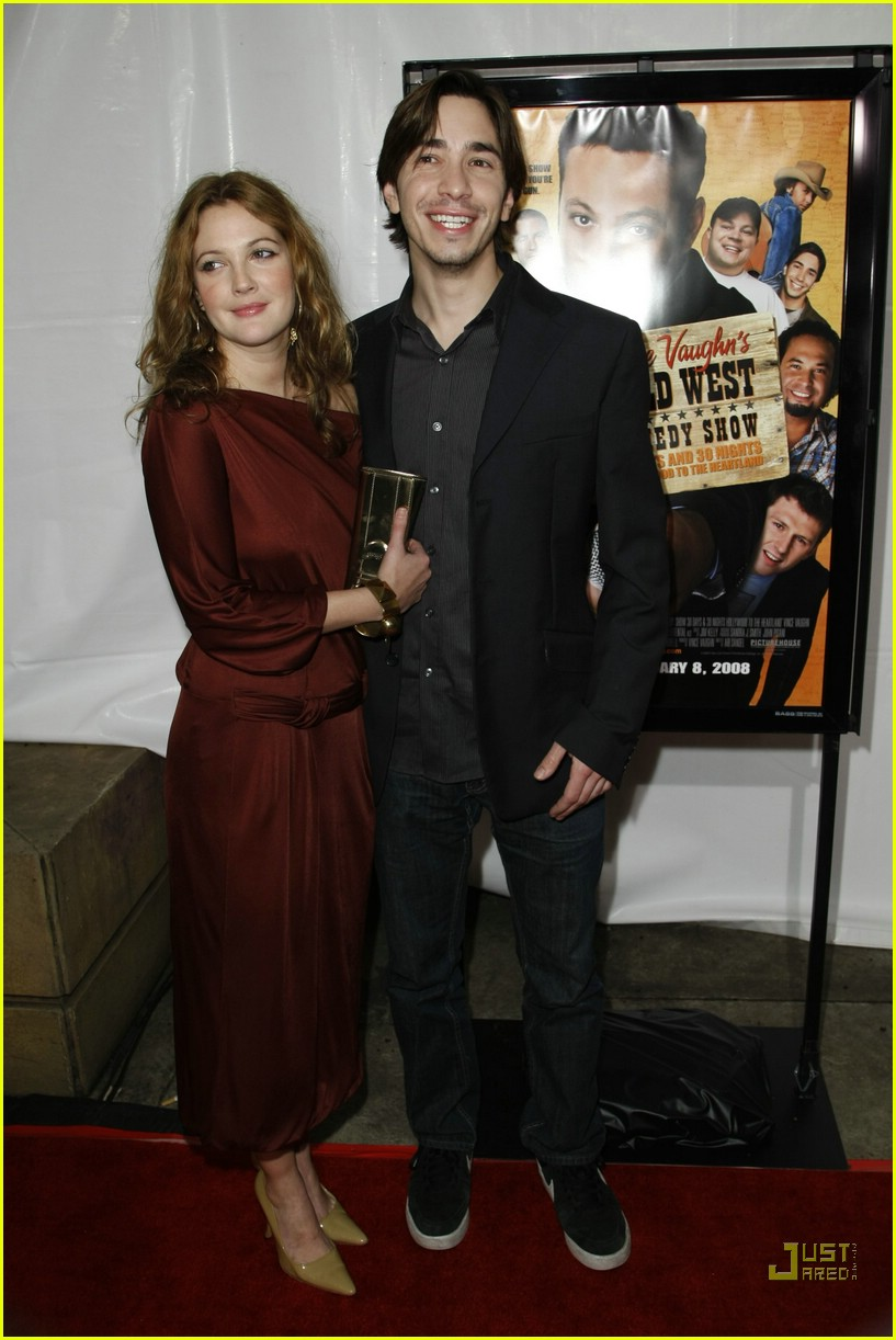 drew barrymore justin long red carpet love 01891771