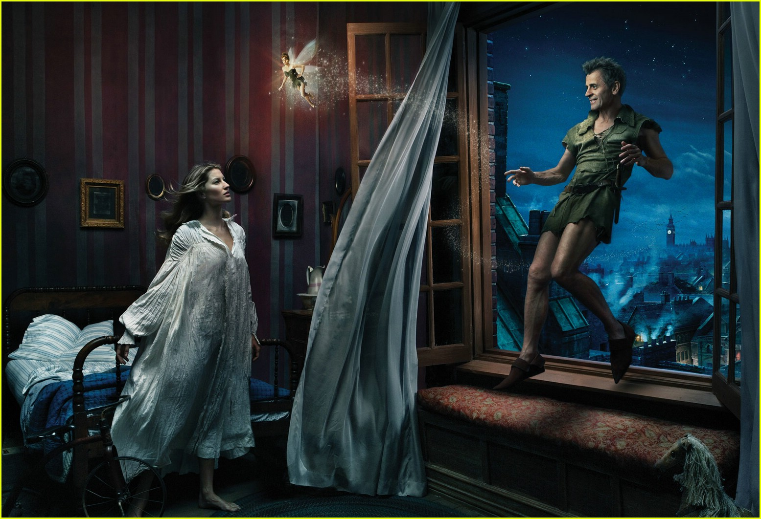 Full Sized Photo of disney dream ads annie leibovitz 08 ...