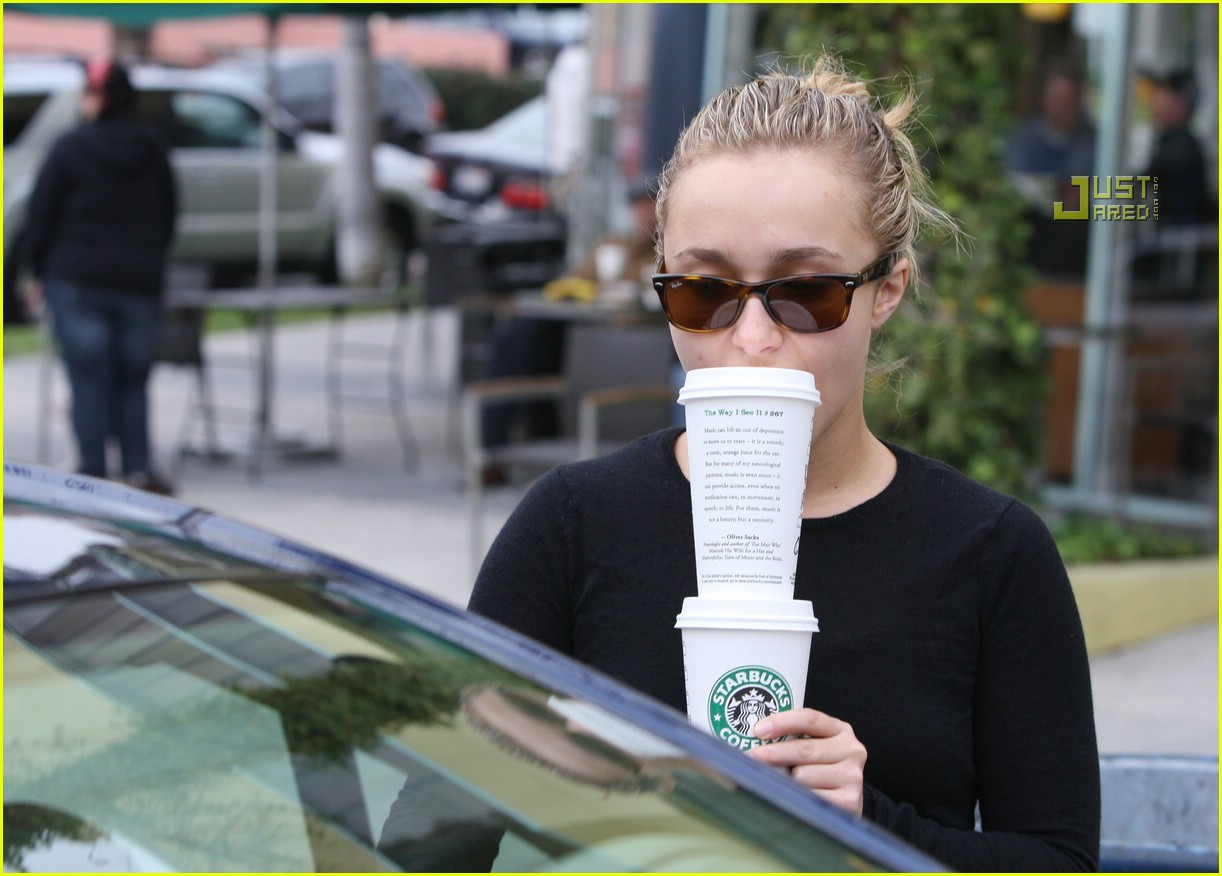 hayden panettiere drinks for two 03840411