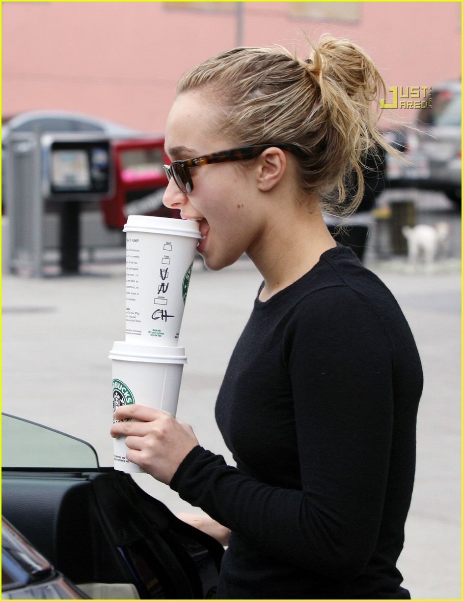 hayden panettiere drinks for two 05