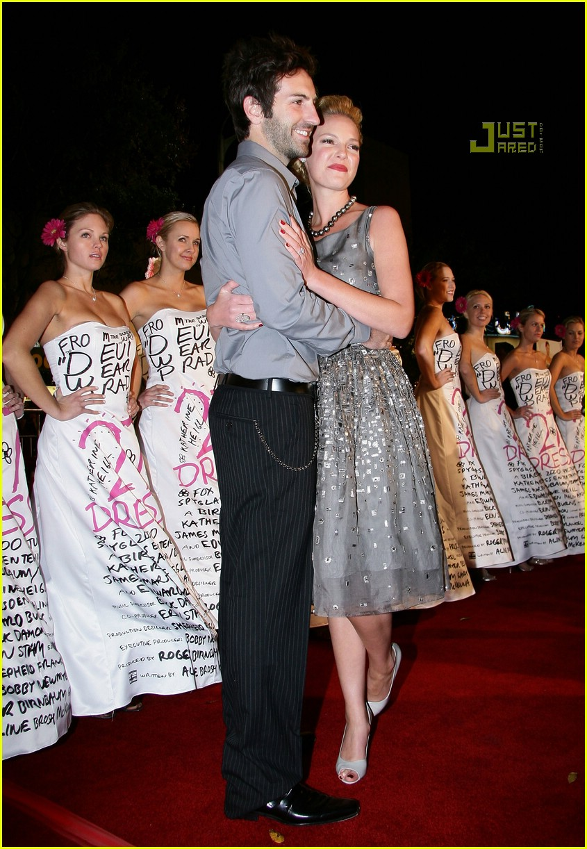 Full Sized Photo of katherine heigl 27 dresses premiere 10 ... Katherine Heigl