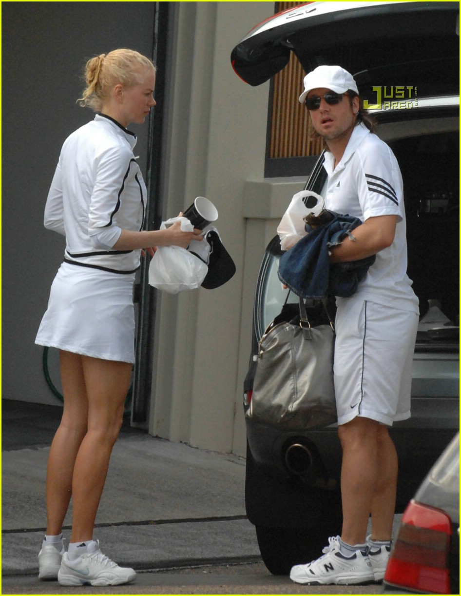 nicole kidman keith urban matching tennis outfits 01850061