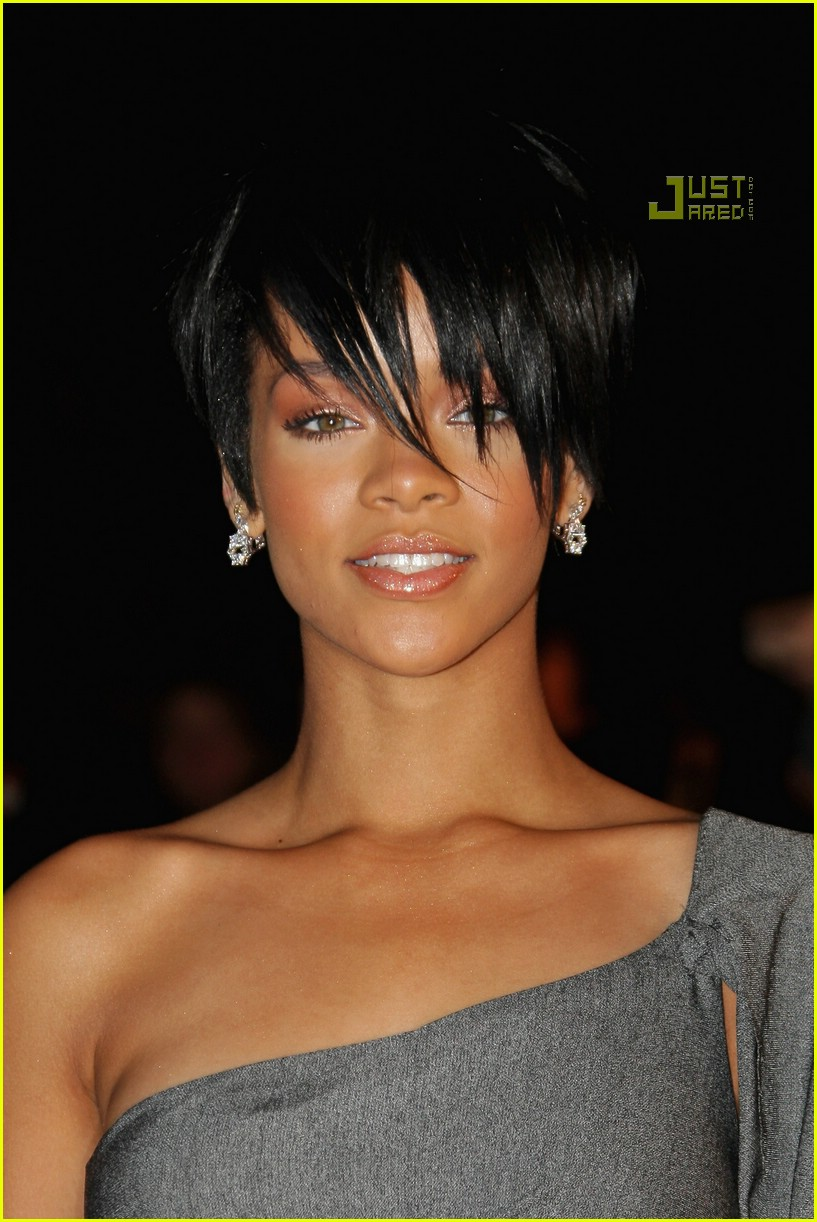 rihanna super short hair 14