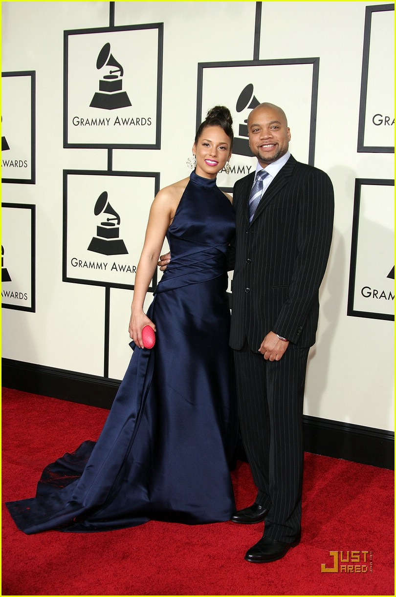 alicia keys grammys 2008 55