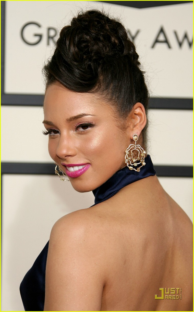 alicia keys grammys 2008 82922581
