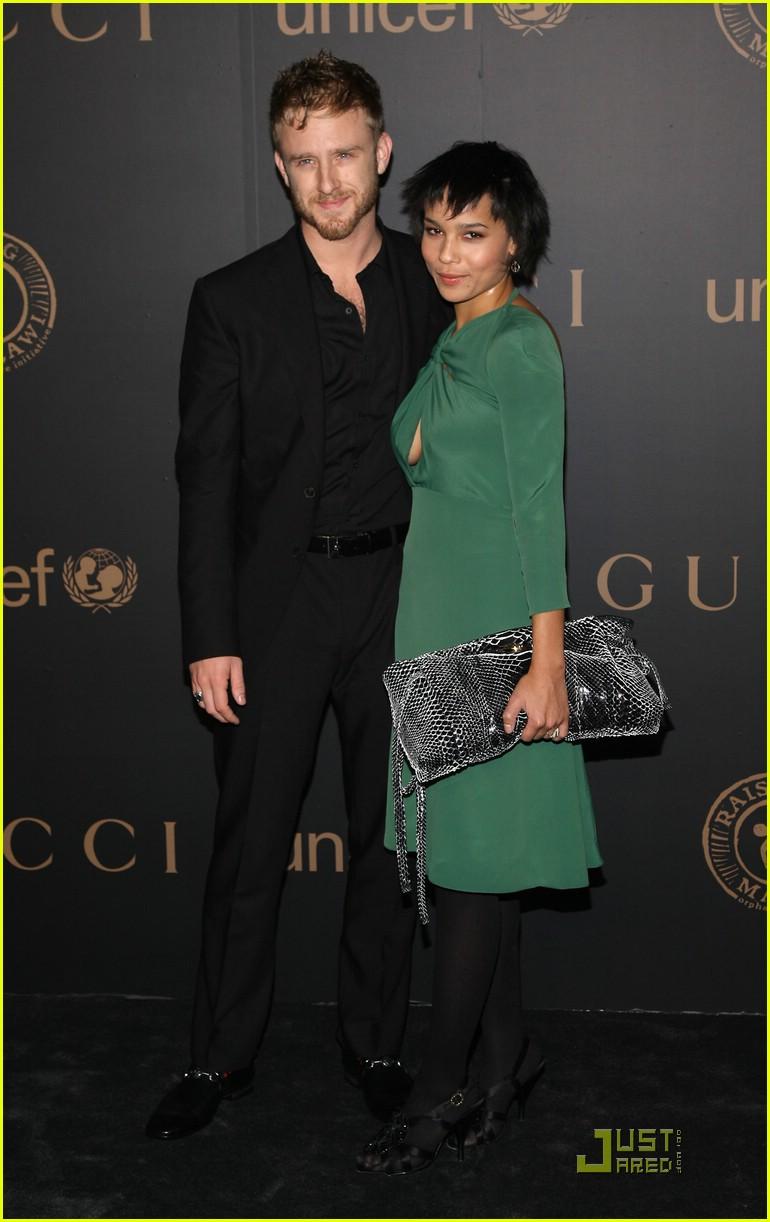 Zoe Kravitz And Ben Foster Zoe Kravitz & Ben ...