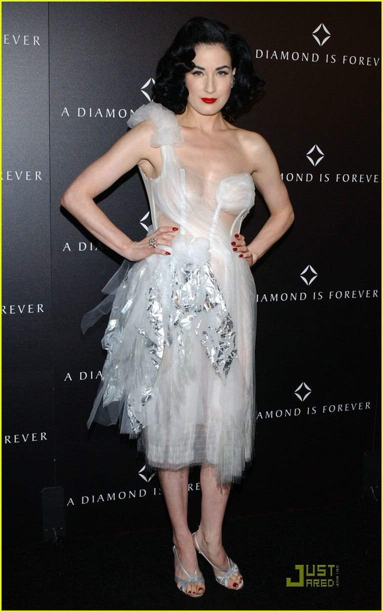 dita von teese diamond dinner 22949331