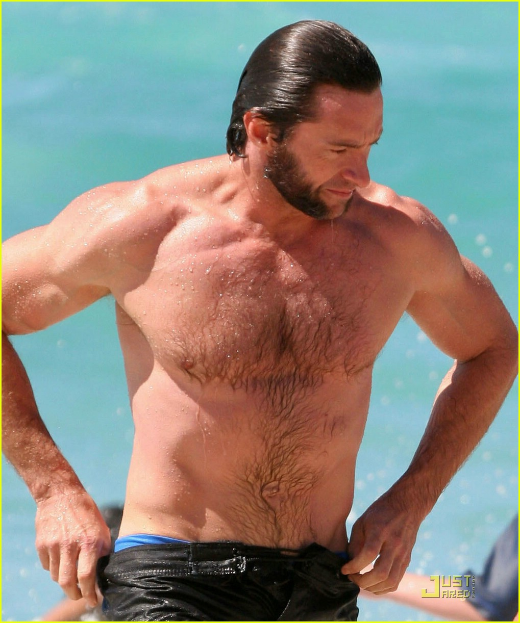 hugh jackman washboard abs 07950871