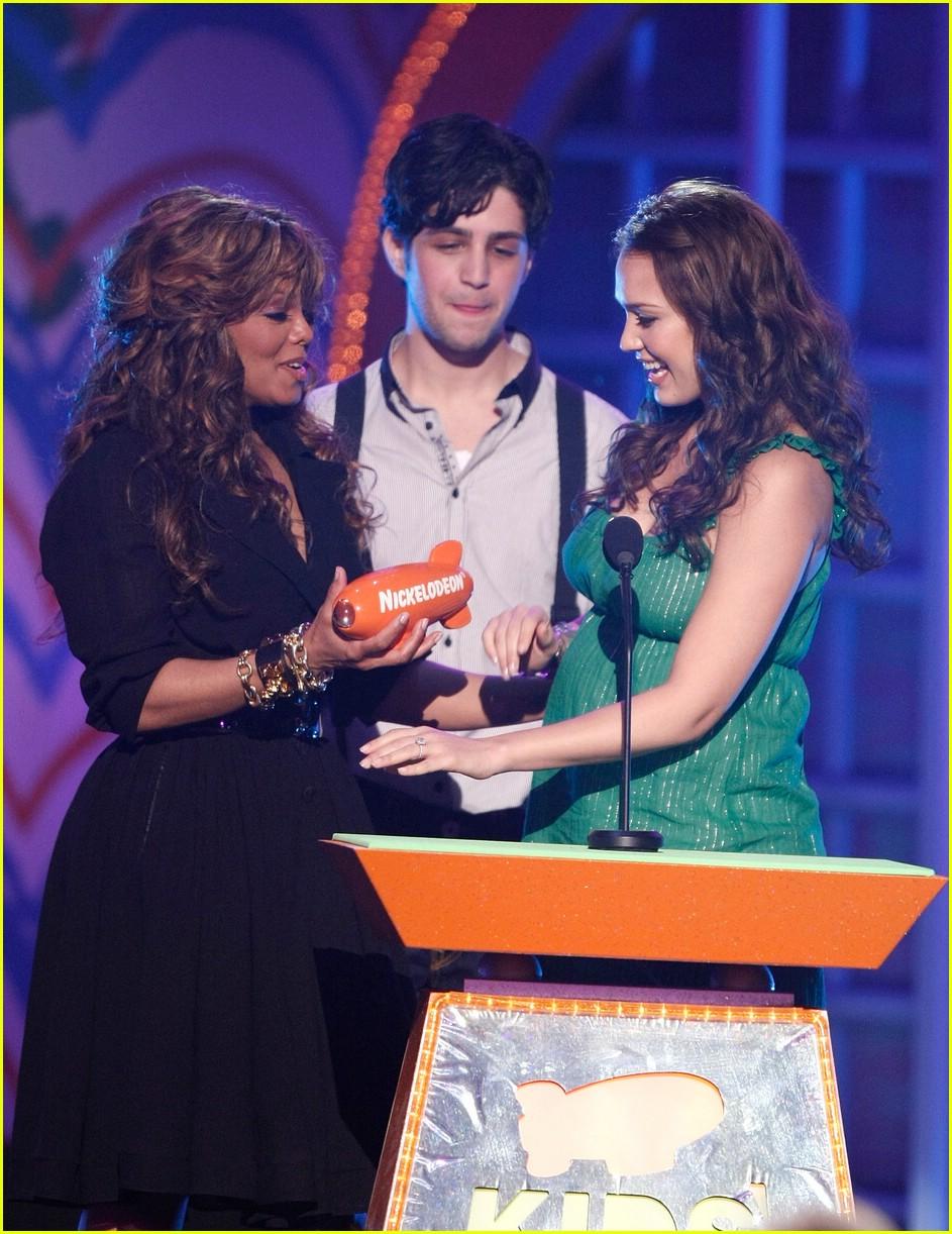 jessica alba 2008 kids choice awards 031031031