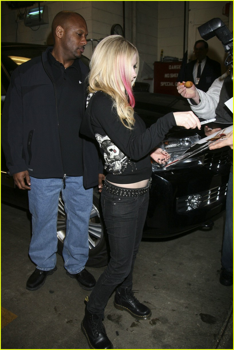 avril lavigne regis and kelly 05