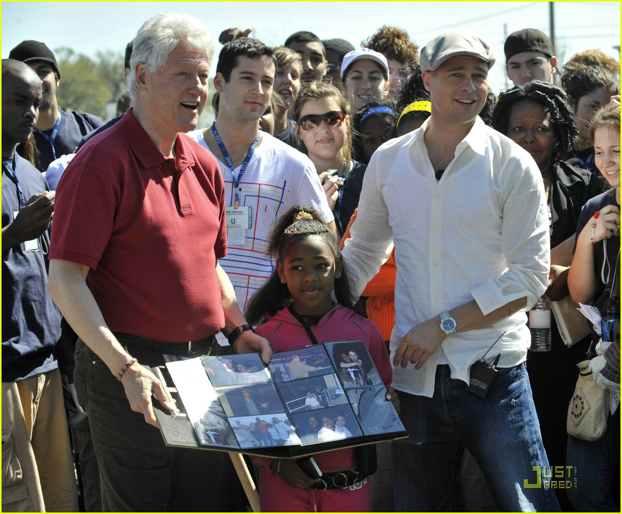 bill clinton brad pitt 05999291