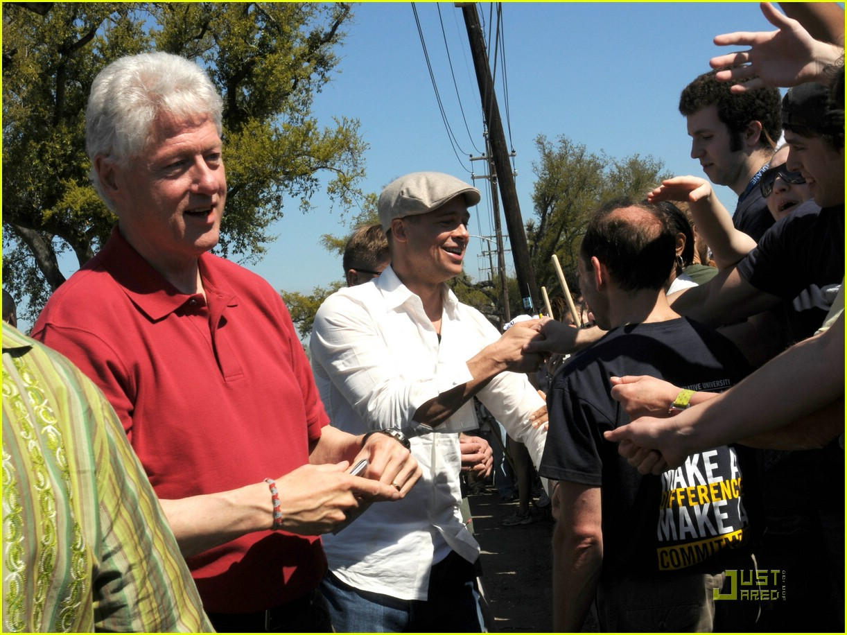 bill clinton brad pitt 07999311