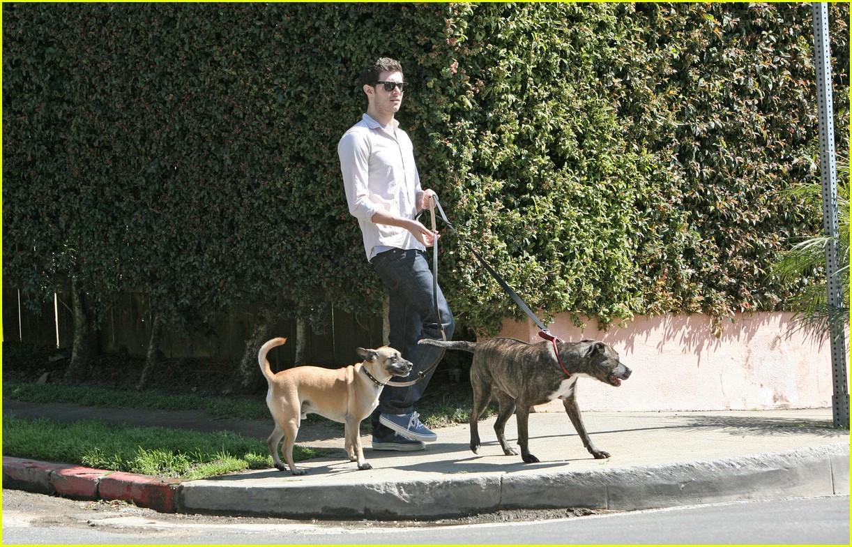 adam brody walking dogs 121024061