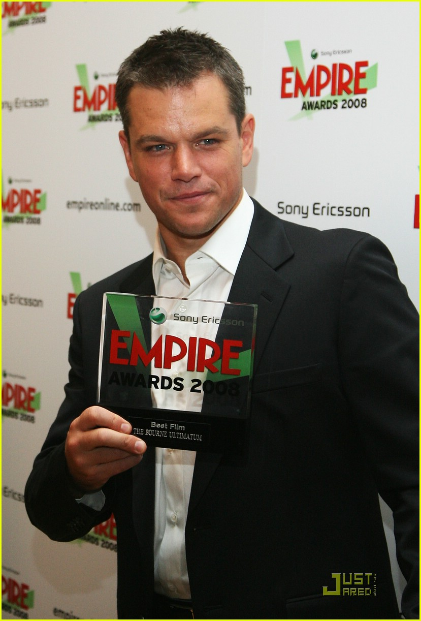 matt damon empire awards 2008 06