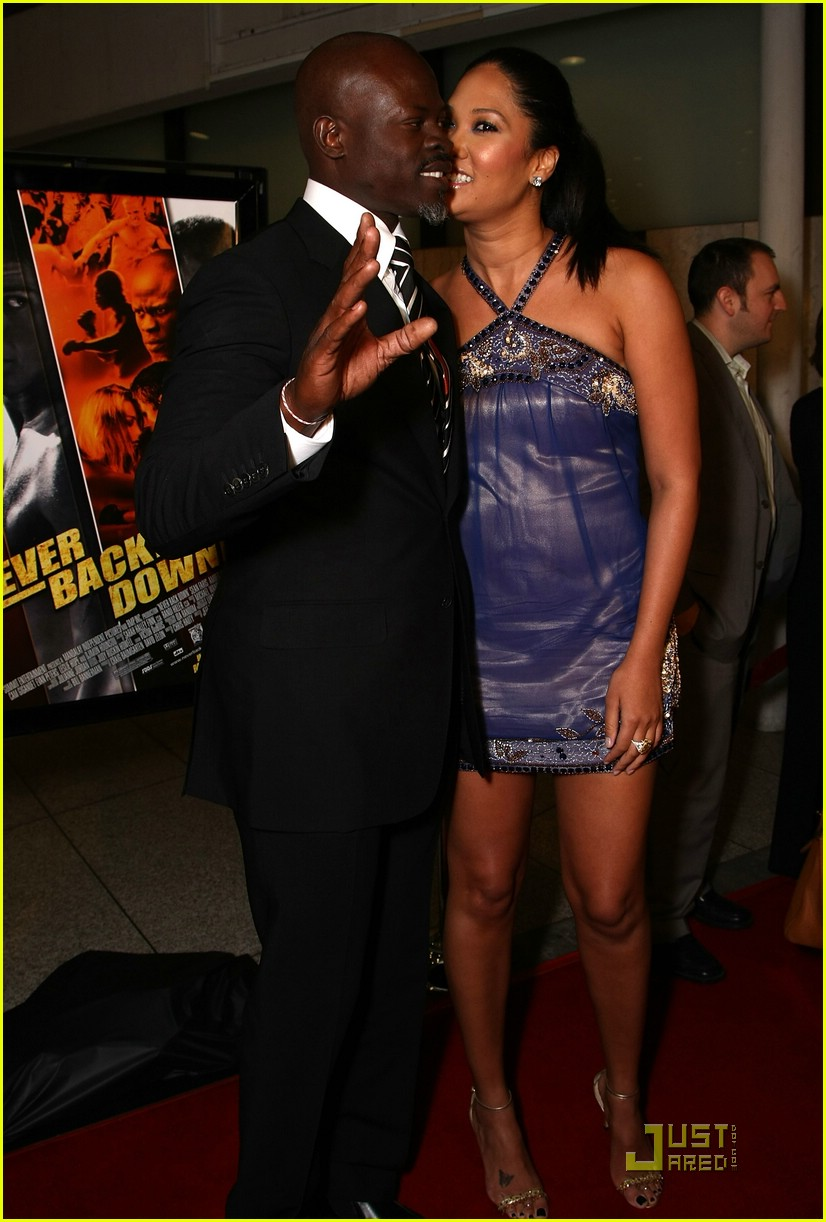 kimora lee djimon hounsou never back down 26975571