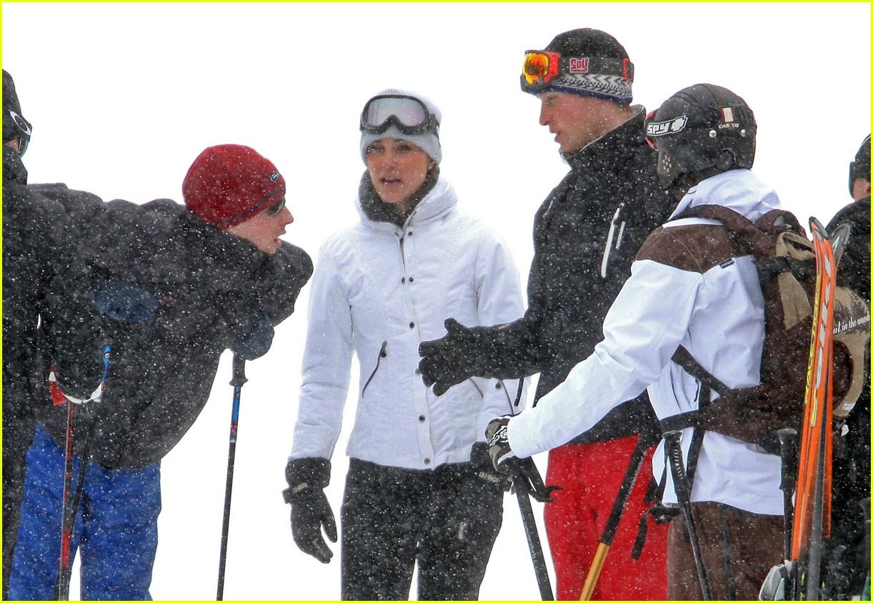 prince william kate middleton skiing 08
