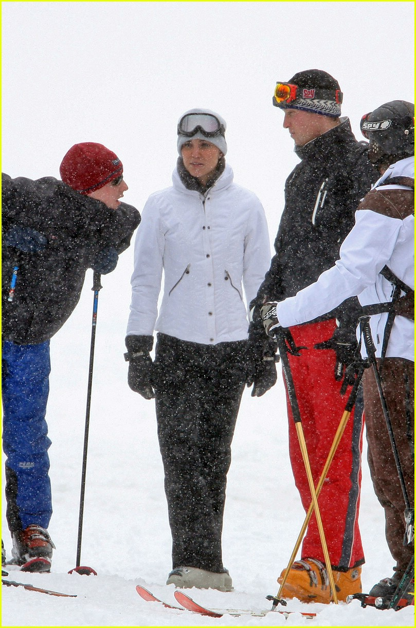 prince william kate middleton skiing 09