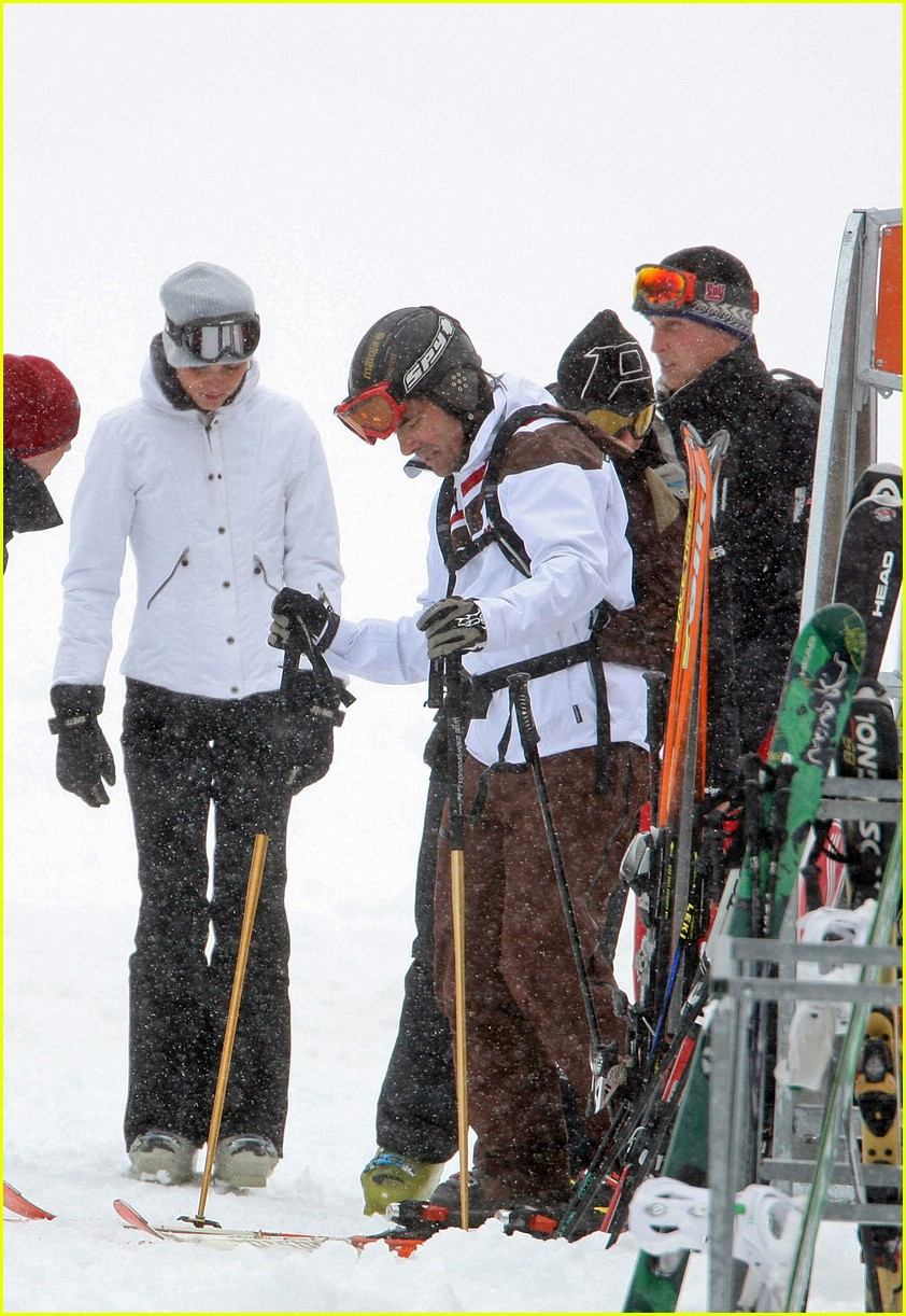 prince william kate middleton skiing 15