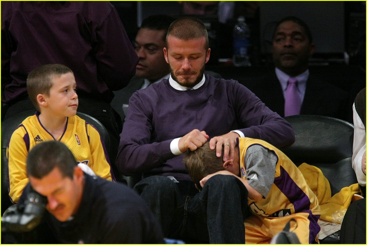 david beckham lakers 01