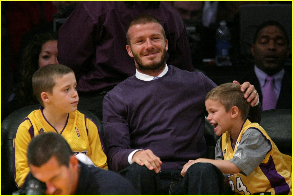 david beckham lakers 021078111