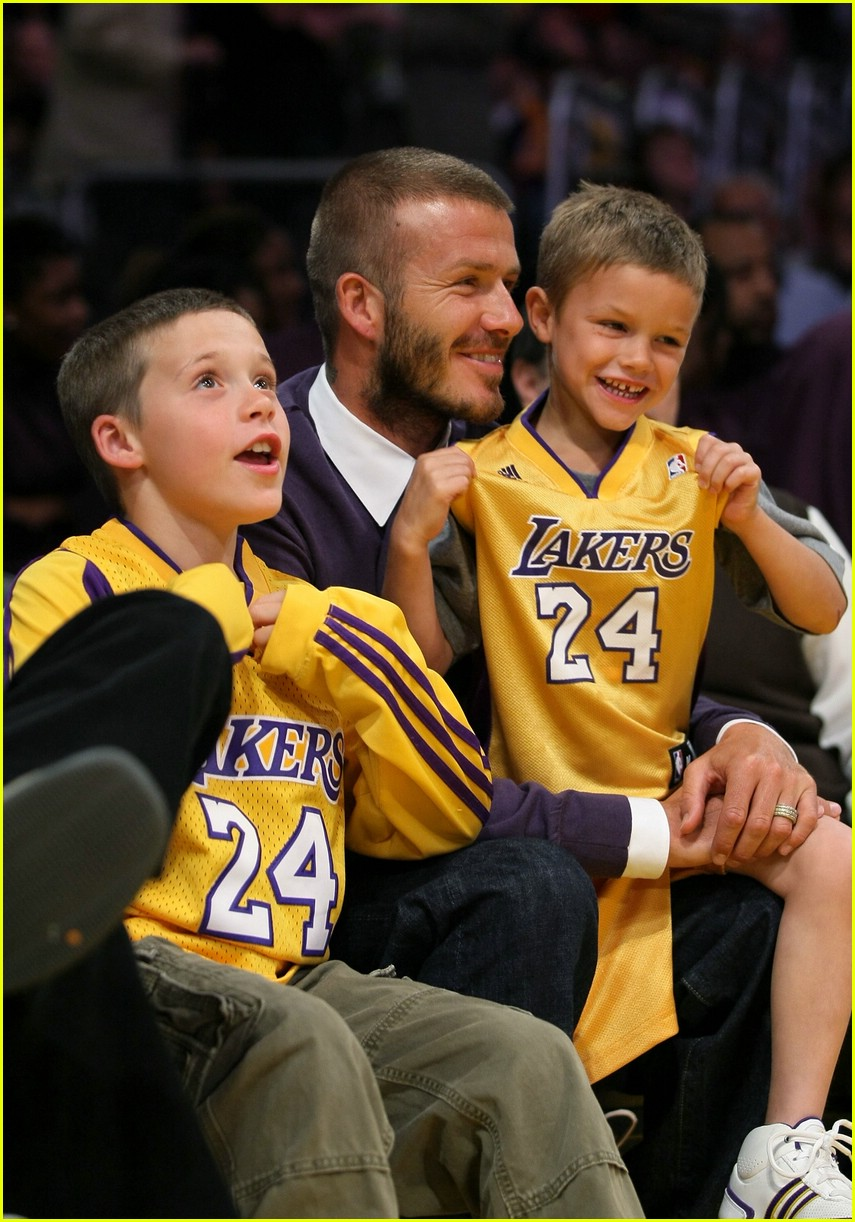 david beckham lakers 061078151