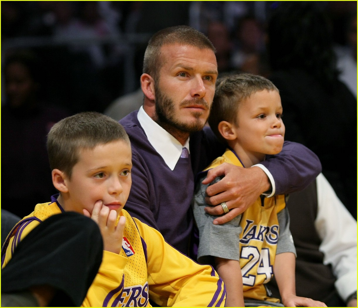 david beckham lakers 111078201