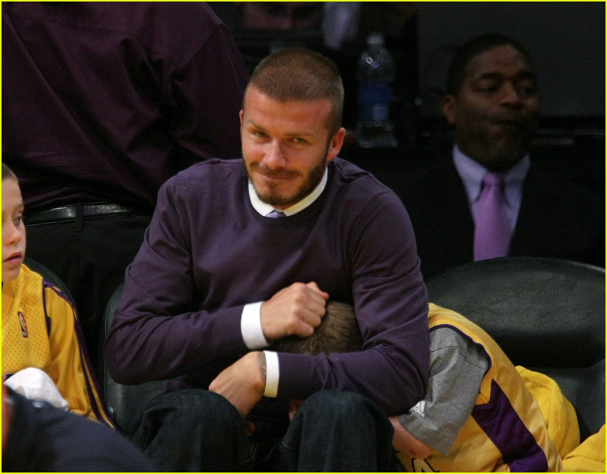 david beckham lakers 12