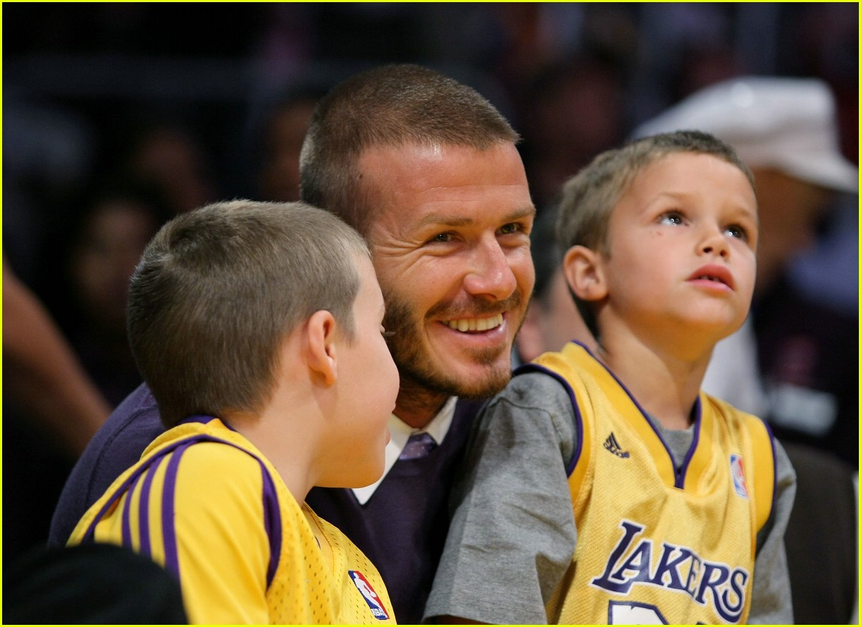 david beckham lakers 131078221