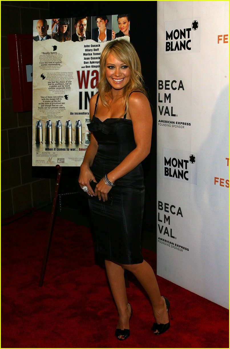 hilary duff war inc 19
