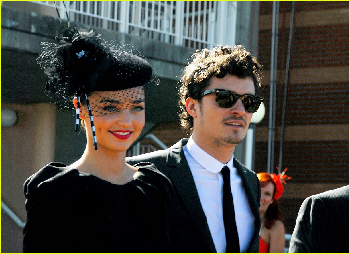 orlando bloom miranda kerr derby 041090641