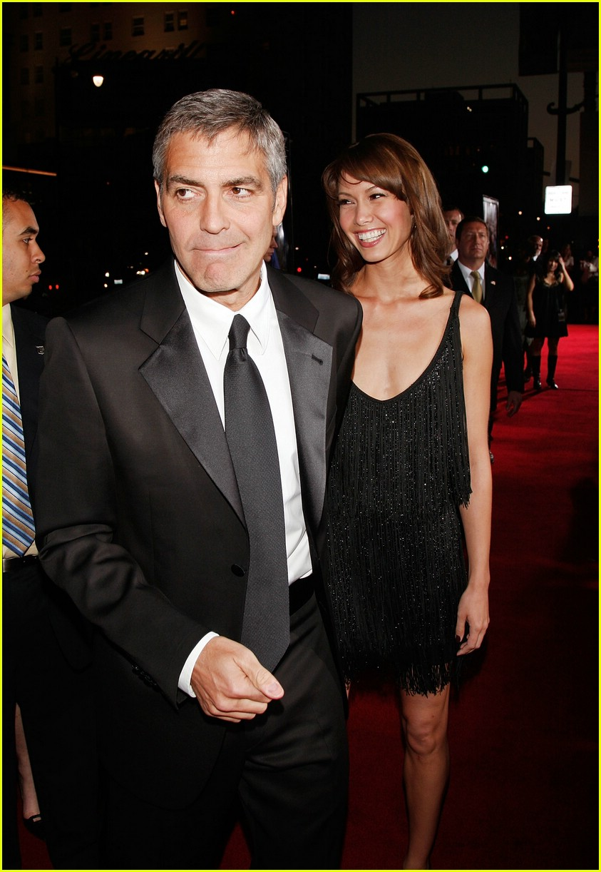 george clooney leatherheads premiere 101036951
