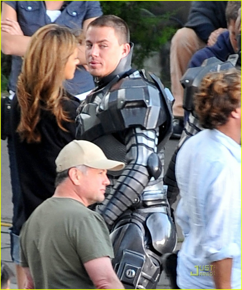 channing tatum filming gi joe 021130551