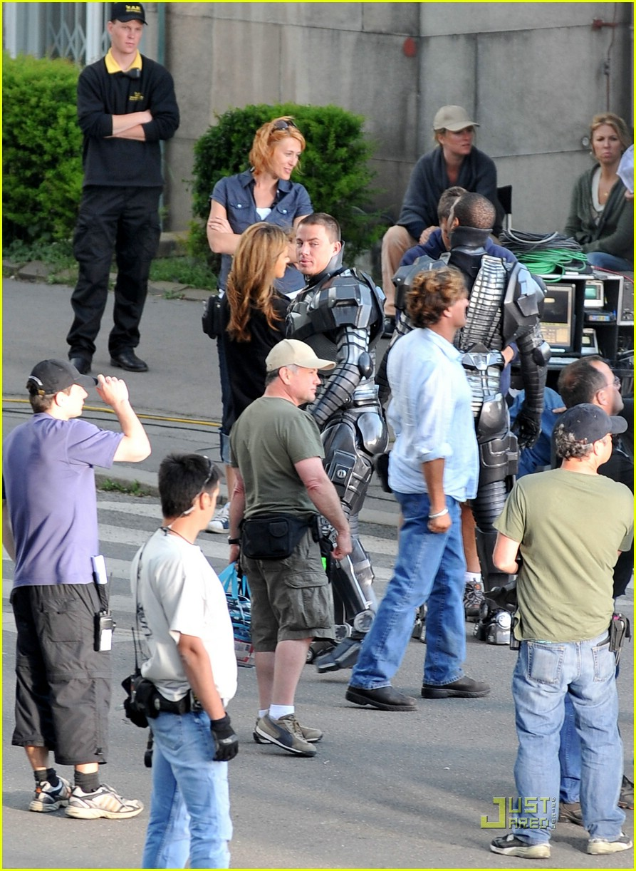 channing tatum filming gi joe 12