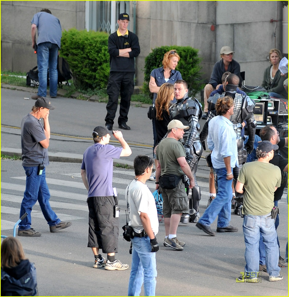 channing tatum filming gi joe 17