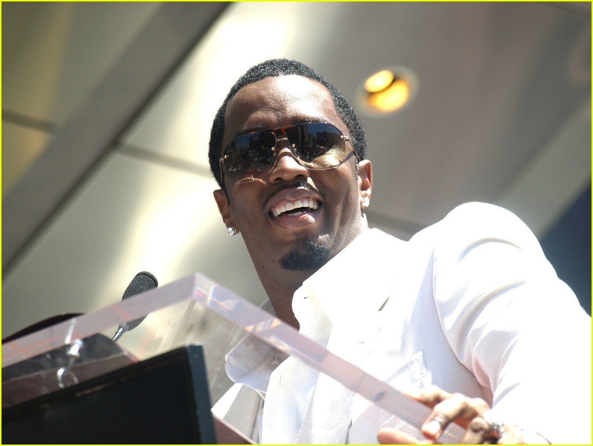 diddy hollywood walk of fame star 12