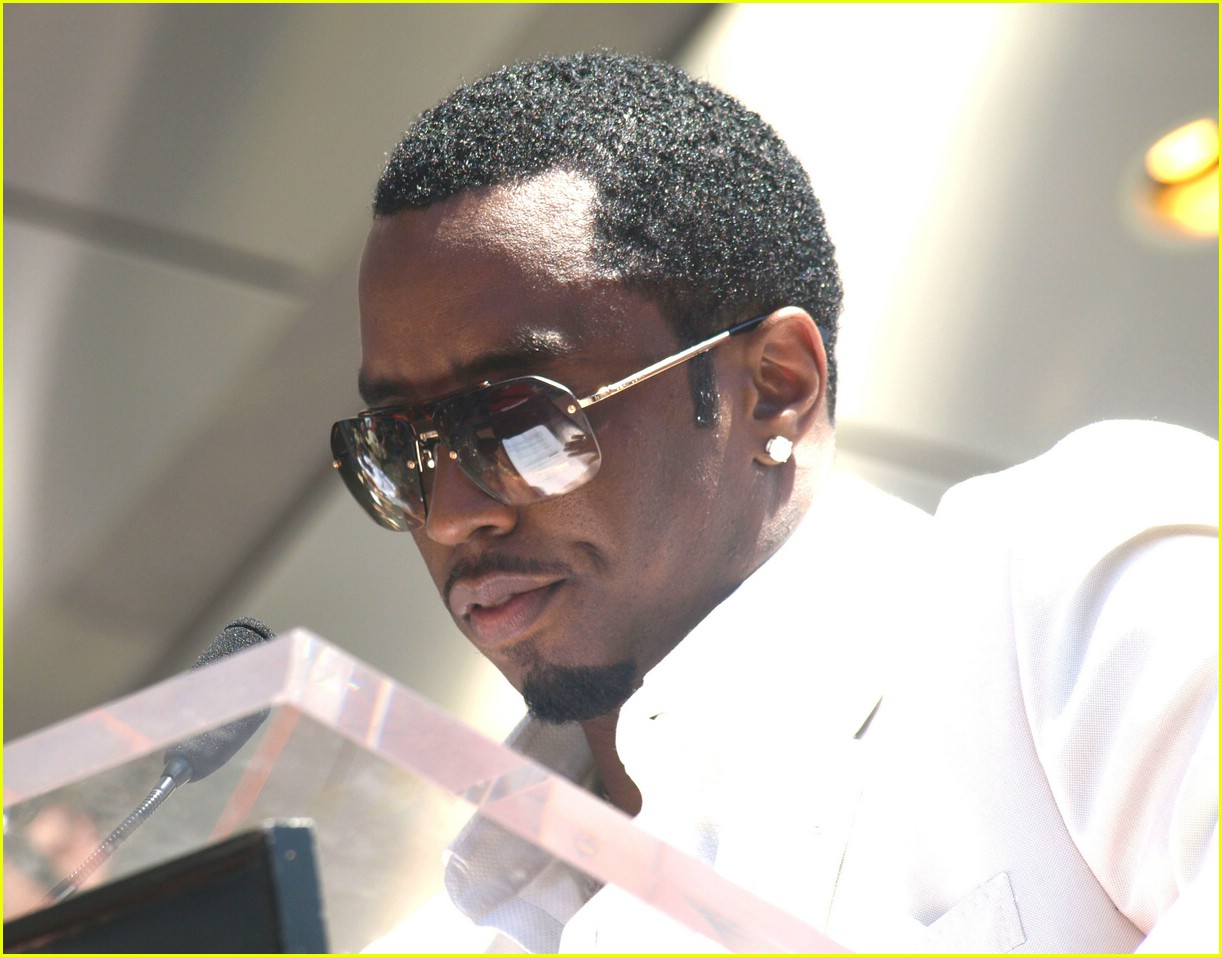 diddy hollywood walk of fame star 181109171