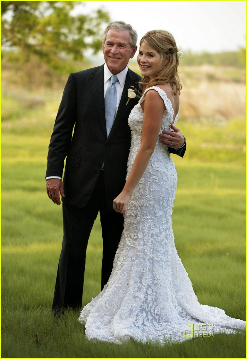 jenna bush wedding pictures 011123021