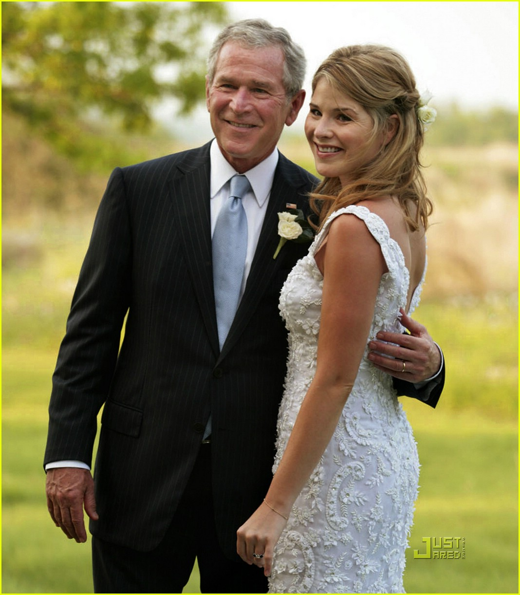 jenna bush wedding pictures 091123101