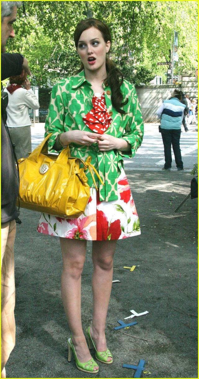 leighton meester green gossip girl 241104131