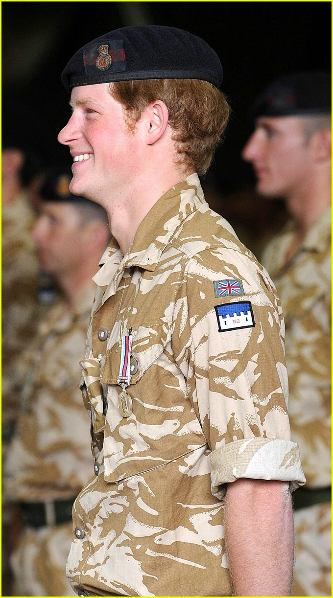 prince harry william medal 26