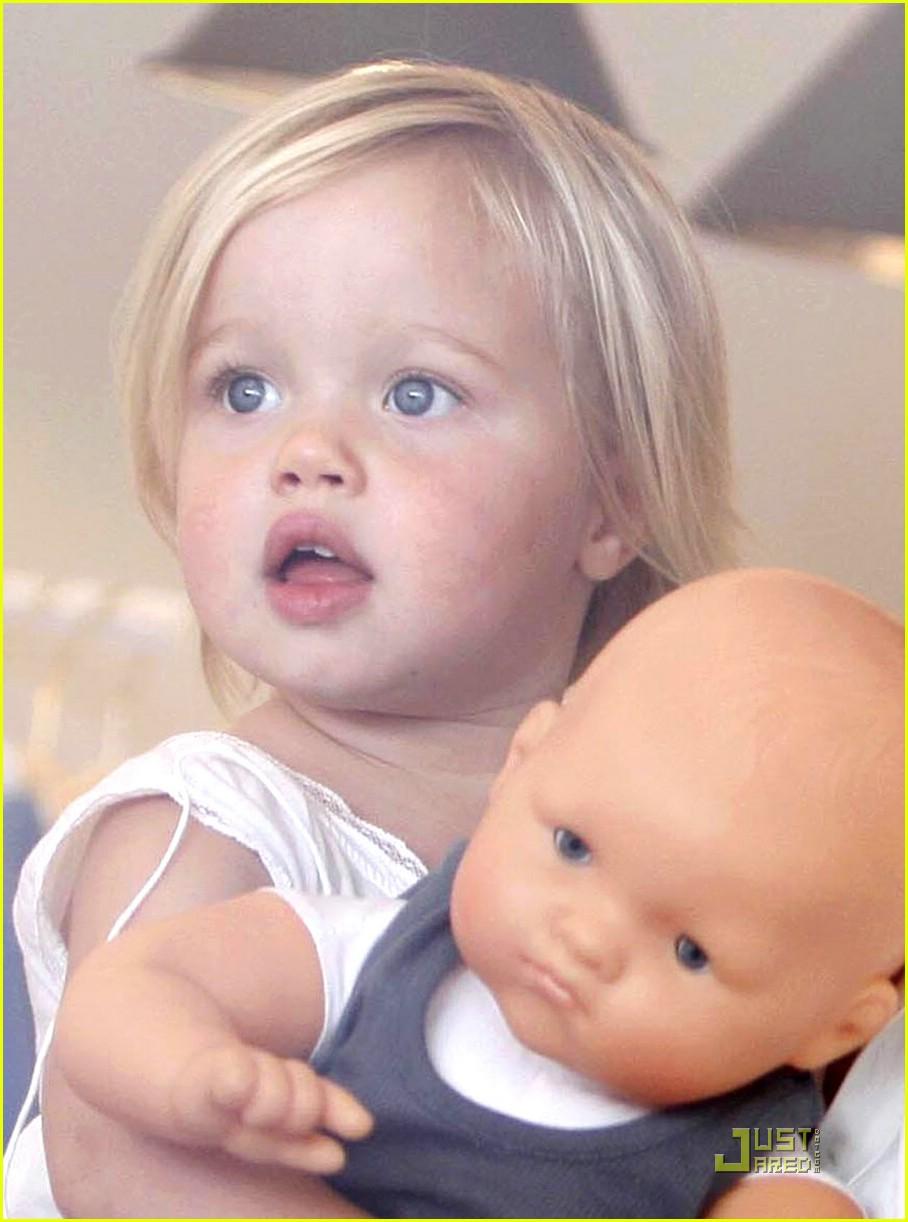 Shiloh Jolie-Pitt is a Bonpoint Baby: Photo 1137261 | Angelina Jolie ...