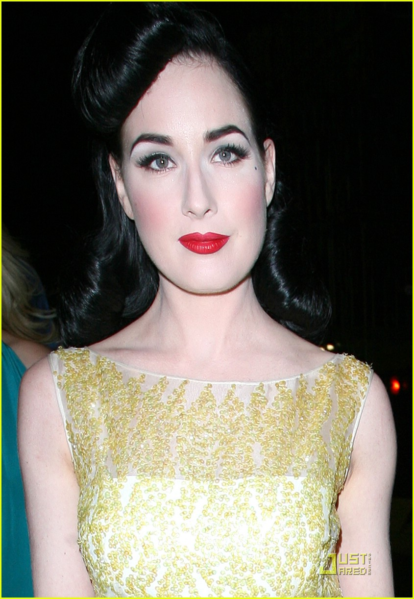 Dita Von Teese Moves It At Movida: Photo 1202381  Dita Von Teese Pictures   Just Jared
